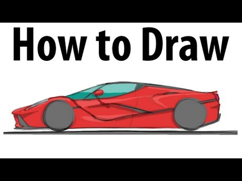 how to start a laferrari