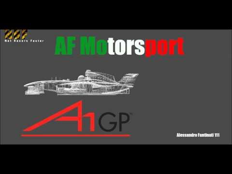 AF Motorsport A1 Gp Presentation