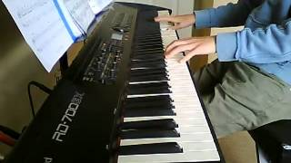 Bach Minuet in G major - jazz variation