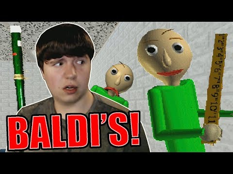 The Teacher No One Wants! || Baldi's Basics in Education and Learning