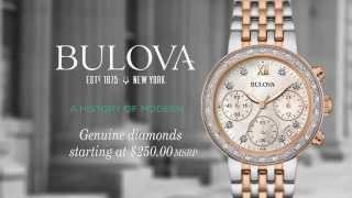 Bulova Diamonds - Watches