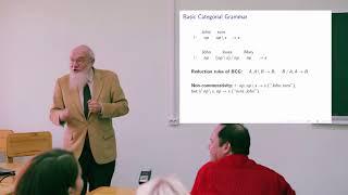 Категориальные граматики. Андре Щедров (Университет Пенсильвании)