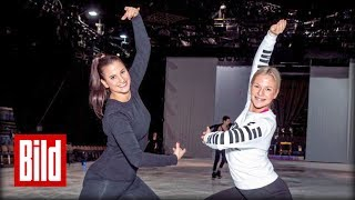 """Holiday on Ice"" - BILD Reporterin trainiert mit Ice-Revue Star"
