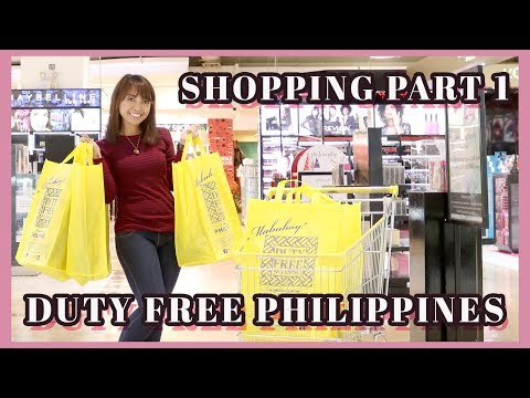 DUTY FREE PHILIPPINES SHOPPING (VLOG) PART 1 | Gen-zel Habab