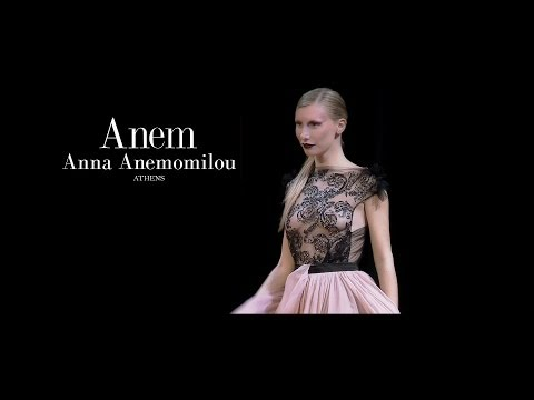 Anem Anna Anemomilou |Bridal Fashion Week '14_ fashion show
