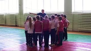 Урок физкультуры Куслій Н.Т.