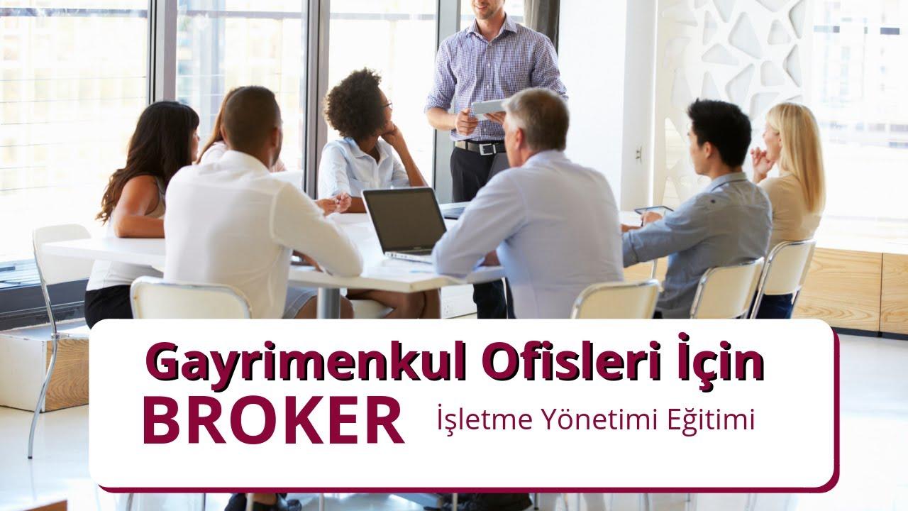 Gayrimenkul Broker Eğitimi Bölüm 1 Ders 1