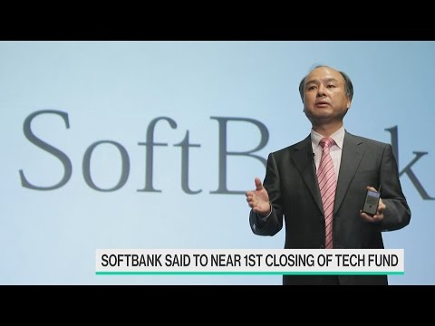 SoftBank Said to Near First Closing of $100B Tech Fund