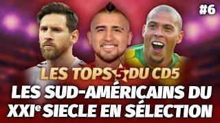 Top 5 : Les meilleurs joueurs sud-américains du XXIème siècle en sélection - #CD5