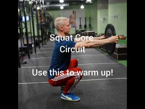 Squat Core Circuit