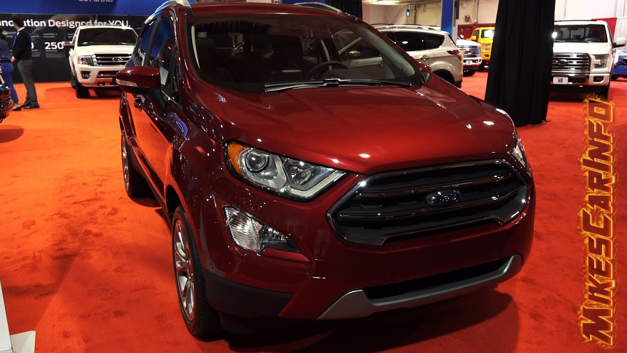 2018 Ford EcoSport Sneak Peek - YouTube