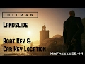 HITMAN - Landslide - Boat Key & Car Key Location