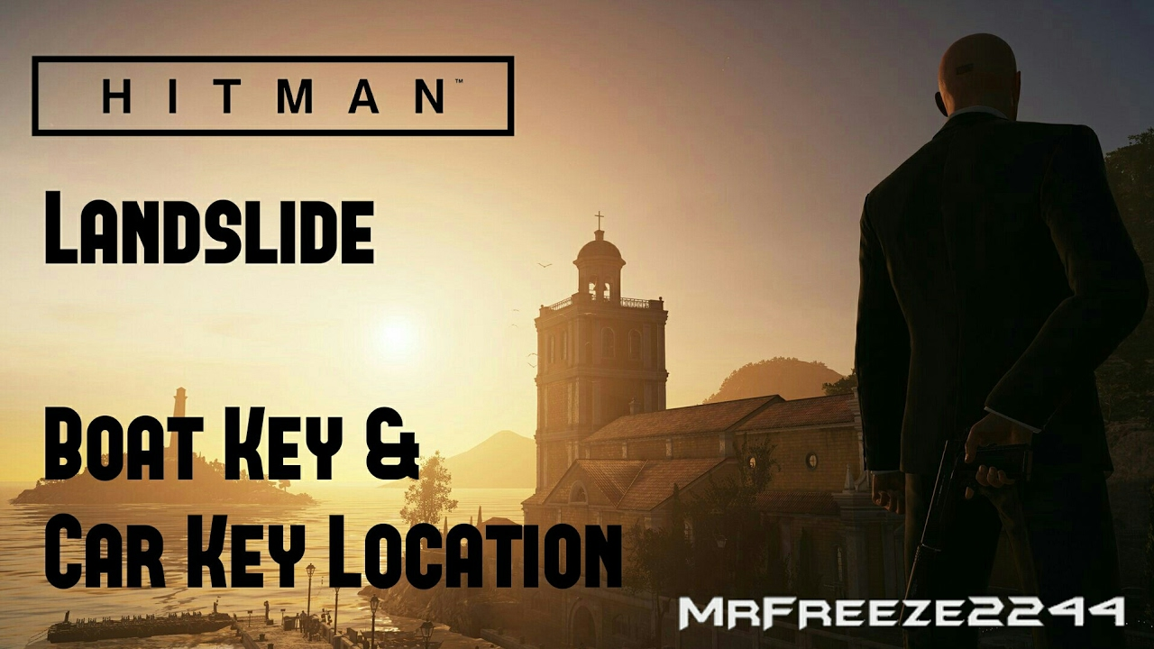 Hitman Landslide Boat Key Car Key Location Youtube
