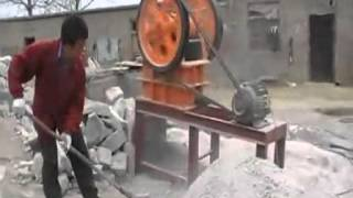 small jaw crusher for making pebble stones