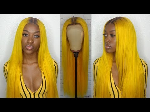 HOW TO | Yellow Hair & Brown Roots (Beaudiva Hair)