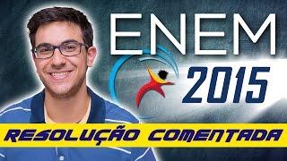 Correção do ENEM 2015 - Resolução comentada de Matemática | EXATAS EXATAS