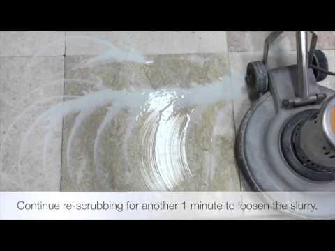 How to resurface and polish marble