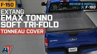 2015 2018 F150 Extang Emax Tonno Soft Tri Fold Tonneau Cover W 5 5 6 5 Bed Review Install Youtube