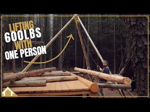 TRIPOD CHAIN HOIST: How to lift heavy objects