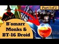 watch he video of CULT OF BRAIN WALKER SPIDERS - B'Omarr Monks and their BT-16 Spider Droid - Creepy Star Wars Legends
