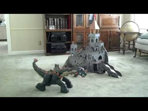 Spike The Dinosaur Vs Castle