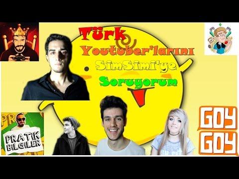 [SimSimi #2] Türk Youtuber'larını Soruyorum
