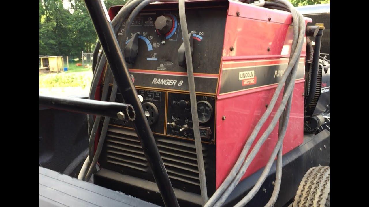 New to me Lincoln, Ranger 8 Welder/Generator