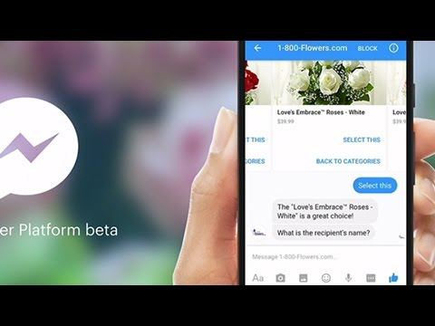 Facebook launches Messenger platform with chatbots