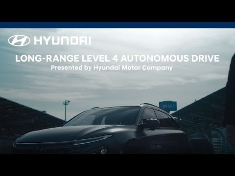 Hyundai Autonomous Fuel Cell Electric Vehicle Long-range Drive