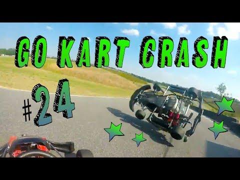 Go kart CRASH & FAILS compilation #24