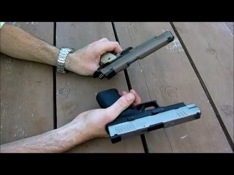 springfield xdm 45 acp review+shooting and half time show