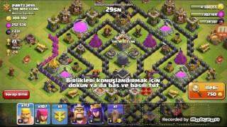 Clash of clans nasıl hile gibi ganimet kasilir +60