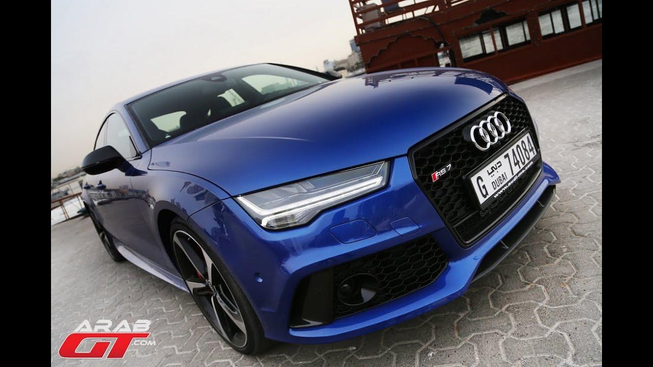 Audi Rs7 2015 اودي ار اس7 Youtube