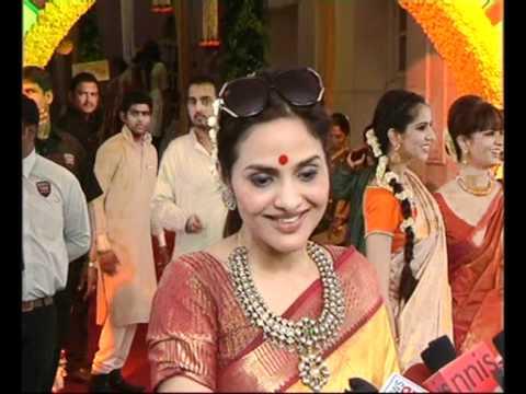 Madhoo Shah & Fardeen Khan at the wedding of Esha Deol