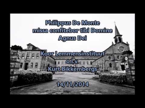Philippus De Monte - Agnus Dei - Koor Lemmensinstituut