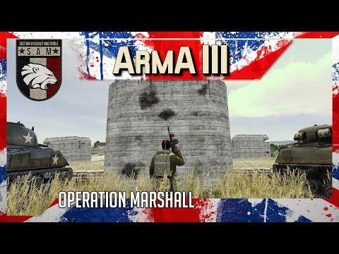 ArmA 3 Milsim fr:  Radio S.A.S dans l'opération Marshall