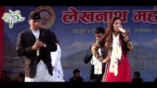 live dohori | rajan thakuri & joti lohoni | माकुरीको जाल | NEW HD | nepali lok song