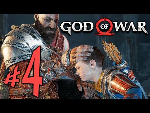 God of War (PS4) - Parte 4: A Maldição!!! [ Playstation 4 Pro - Playthrough ]