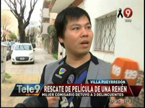 Villa Pueyrredón: rescate de película de una rehén