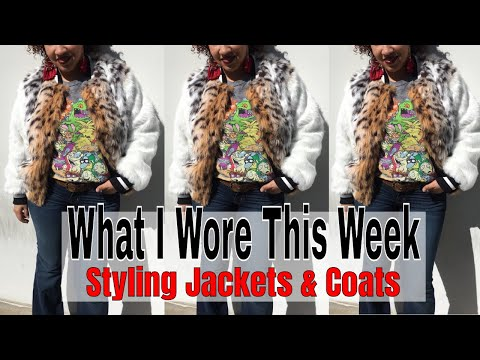What I Wore This Week   Styling Jackets, Coats & Faux Fur   Outfit Ideas For Work