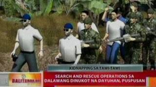 BT: Search and rescue ops sa 2   dinukot na dayuhan, puspusan