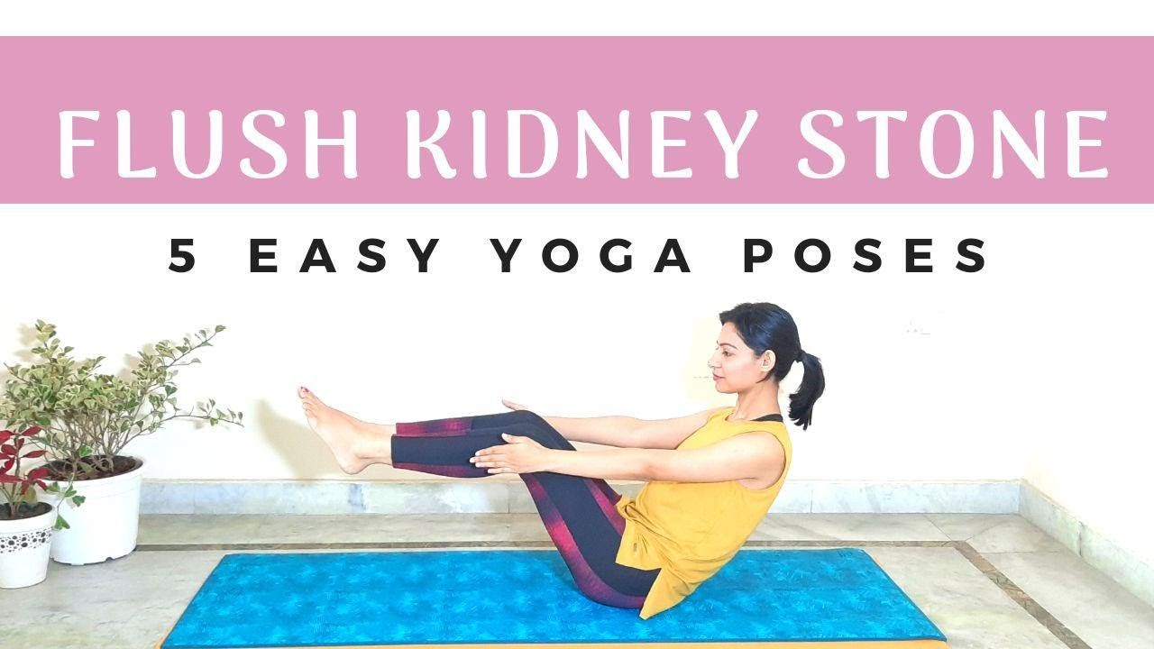 30 Yoga Asanas to treat Kidney stones