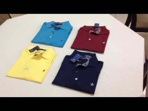 Camisas/camisa masculinas gola polo dudalina várias cores mercado livre