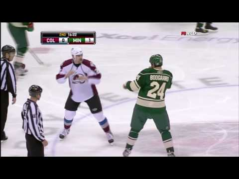 David Koci vs Derek Boogaard Oct 21, 2009