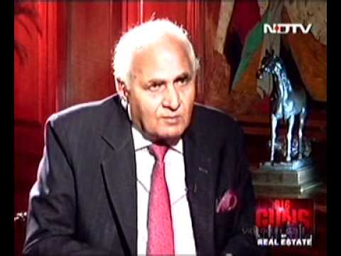 Story Behind Gurgaon - From The Horse's Mouth. KP's Interview To NDTV Profit.