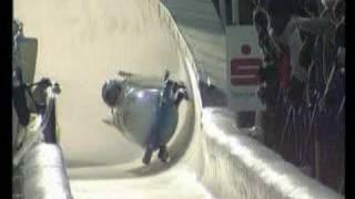 bobsleigh crash