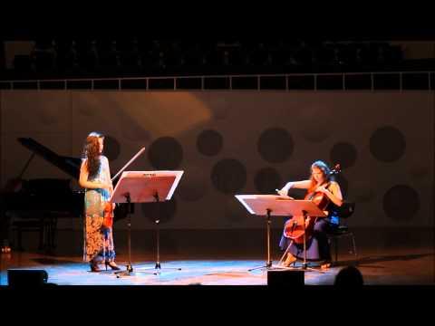 Sofia Gubaidulina Rejoice! Freue dich! Sonata for Violin and Cello (1981)
