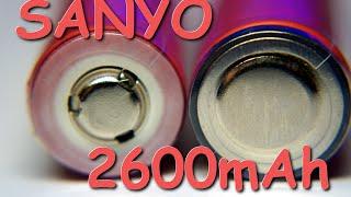 РЕАЛЬНЫЕ АККУМУЛЯТОРЫ LI-ION SANYO 18650 НА 2600MAH. АЛИЭКСПРЕСС(ПРИОБРЕТАЛ ТУТ - http://ali.pub/g42mz и http://ali.pub/h5xge Аккум. Samsung 2600 - http://ali.pub/0ncsi и http://ali.pub/xobm9 Аккум. Panasonic 3400 ..., 2014-11-03T22:38:47.000Z)