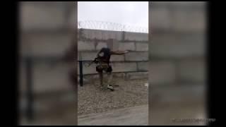 Тренировка с оружием.
