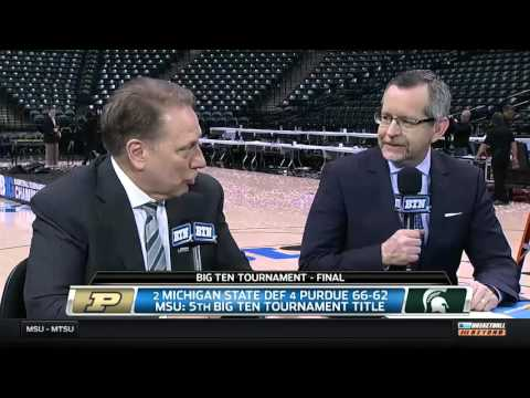 Tom Izzo Talks Big Ten Championship and NCAA Selection